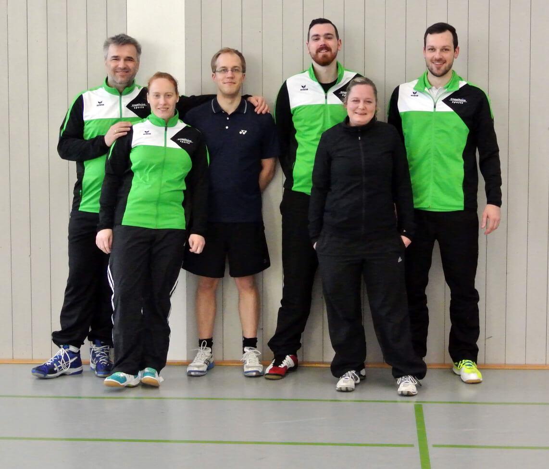 1. Mannschaft der SFD Badminton Abteilung