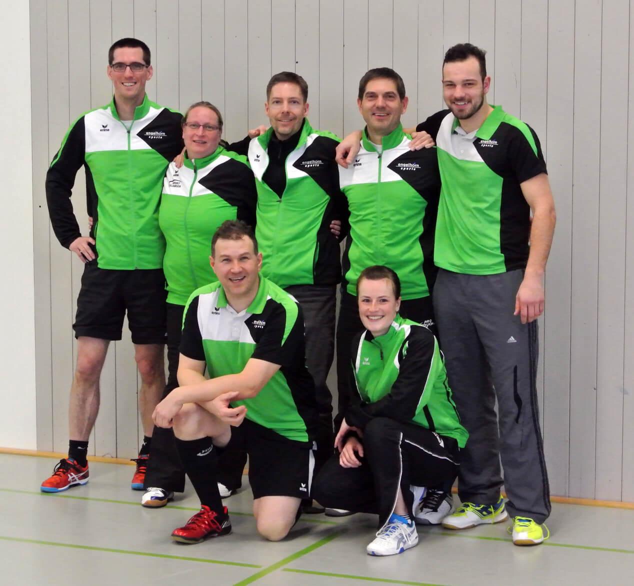 2. Mannschaft der SFD Badminton Abteilung