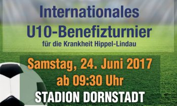 Internationales U10-Benefizturnier am 24.06.2017