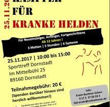 """Ausrichtung Benefiz Kampsort-Seminar """"Kämpfer für kleine Helden"""""""