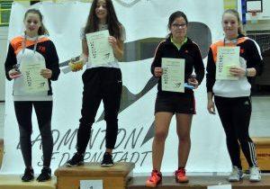 Bericht 3. Badminton Regional-RLT der Jugend 12.11.17