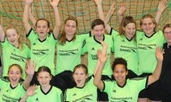 C-Juniorinnen – Meister Kreisstaffel Saison 2017/18