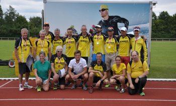 Heimspiel für die Triathleten vom MACK Team SF Dornstadt beim Erbacher Triathlon
