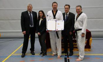 3. DAN im Taekwondo für Sven Kneipp