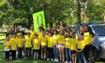 Starker Auftritt beim Cross-Triathlon in Günzburg
