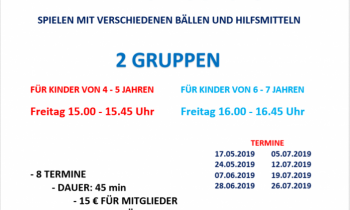 Sommer Ball-Schule 2019