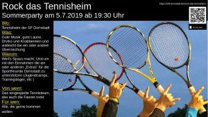 Rock das Tennisheim