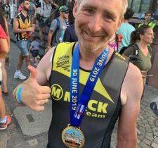 Dornstadter Triathleten trotzen der Hitze