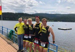 Finale der Triathlon Landesliga 2019 für das MACK Team Triathlon Dornstadt