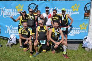 Beim Allgäu-Kult-Triathlon treffen sich über 2700 Sportler zum Schwimmen, Radeln und Laufen