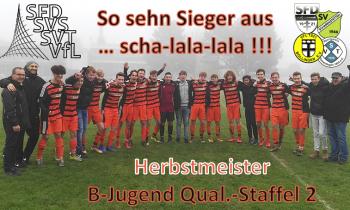 Es ist geschafft … B-Jugend ist Herbstmeister !!!