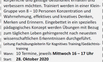 Kognitionstraining