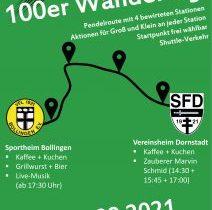 100er Wandertag der Fußballabteilung